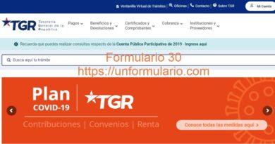 Formulario 30