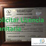 Formulario licencia sanitaria Puerto Rico