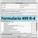 Formulario 499 R-4