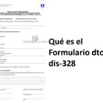 Formulario dtop-dis-328