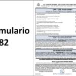Formulario ds-82 en español