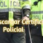 Descargar Certificado Policial en Colombia