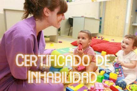 Certificado de Inhabilidad