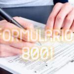 Formulario 8001 de Argentina