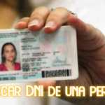 Buscar DNI de una persona en CHile