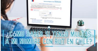 ¿Cómo saber si tengo multas a mi nombre con RUT en Chile?