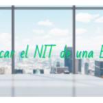 Como buscar el NIT de una Empresa en Colombia