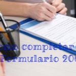 Como completar el Formulario 206 en Argentina