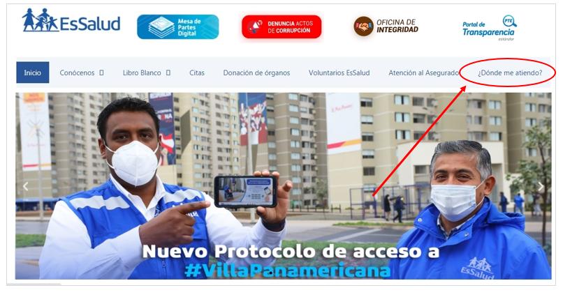 Requisitos para cambio de Centro Asistencial Essalud Peru