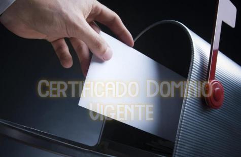 Certificado Dominio Vigente en Chile