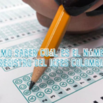 ¿Cómo saber cuál es el número de registro del ICFES Colombia?