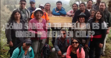 ¿Cómo saber si tu apellido es de origen Indígena en Chile?