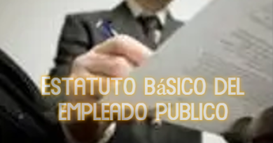 Estatuto básico del empleado publico