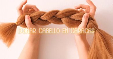 Donar Cabello en Caracas.