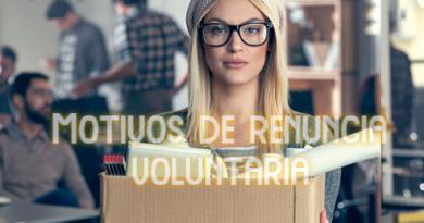 Motivos de Renuncia Voluntaria en Chile.