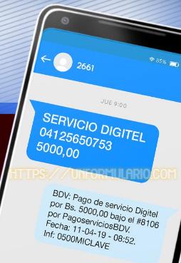 Afiliación Clave Móvil Banco de Venezuela