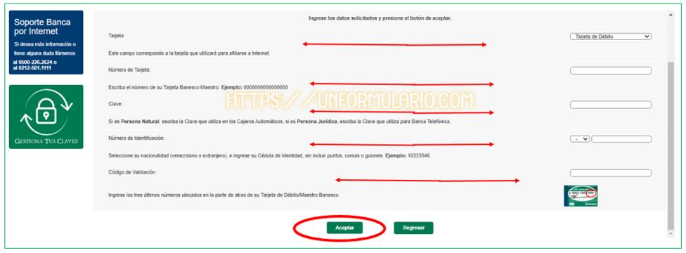 Banesco Online Venezuela